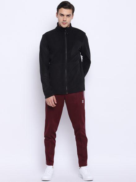 Classic Black Adidas Sweatshirt