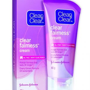 Best Body Lightening Cream Brand in India - Clean and Clear Fairness Cream