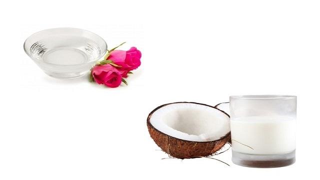 Coconut Milk & Rose Water