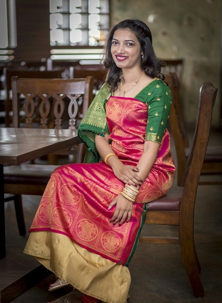How to wear saree - Karnataka Style Step by Step