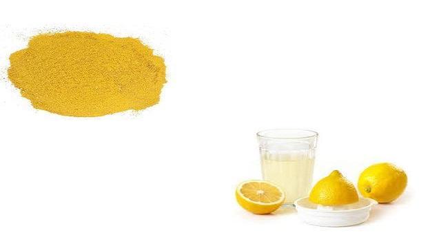 Cornmeal & Lemon Juice