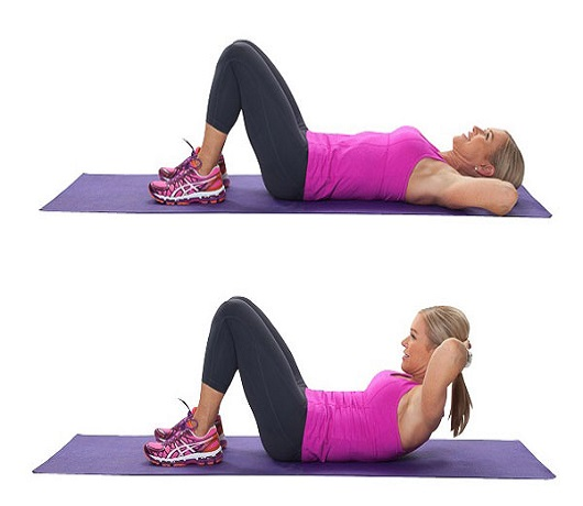 Crunches For Belly Fat Reduction