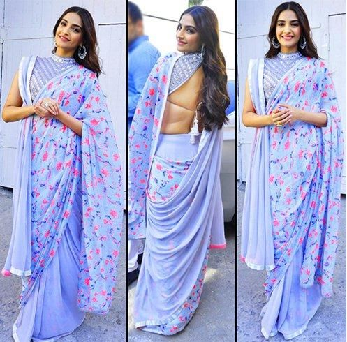 How to wear saree - Double Pallu Style Step by Step