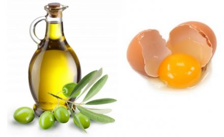 To Fight Oily Hair - Egg White And Olive Oil