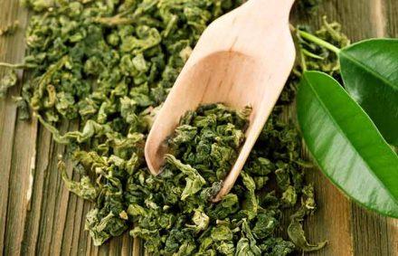 Use Green Tea Leaves