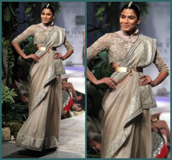 How to wear saree - Modern Style Step by Step