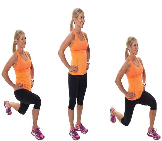 Lunges For Strengthening Muscles