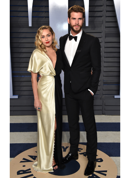 Mylie Cyrus and Liam Hemsworth