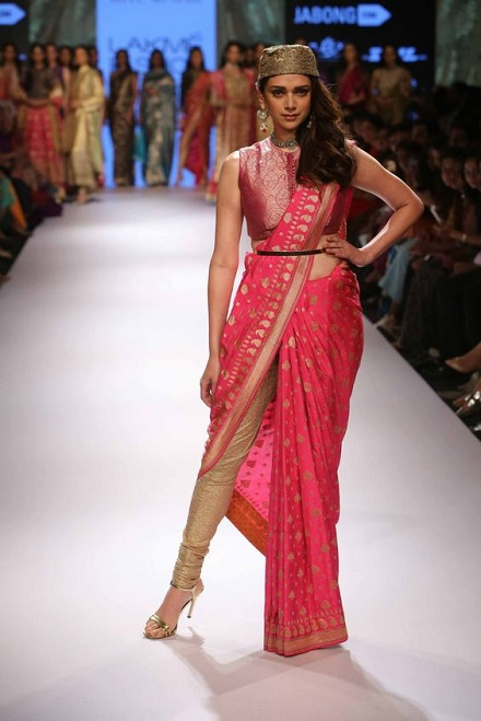 How to wear saree - Pant Style Step by Step
