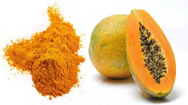Papaya-turmeric