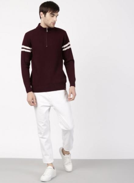 Half Zip Front Pullover