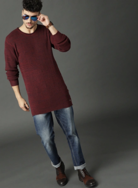 Longline Pullover