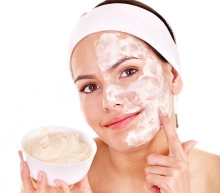 Apply Yogurt Mask