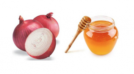 Apply Onion And Honey Mask