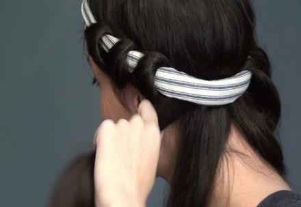 Vintage Curls With Headband