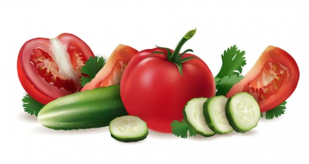 Use Tomato And Cucumber