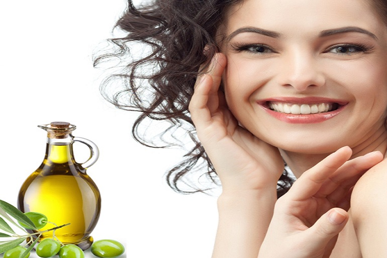 apply oil to your hair
