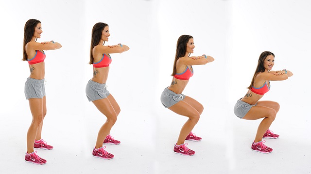 Squats For Reducing Thigh And Glutes Fat
