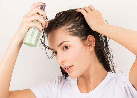 Use A Heat Protection Spray