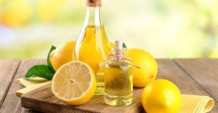 Apply Lemon and Almond Oil Mixture