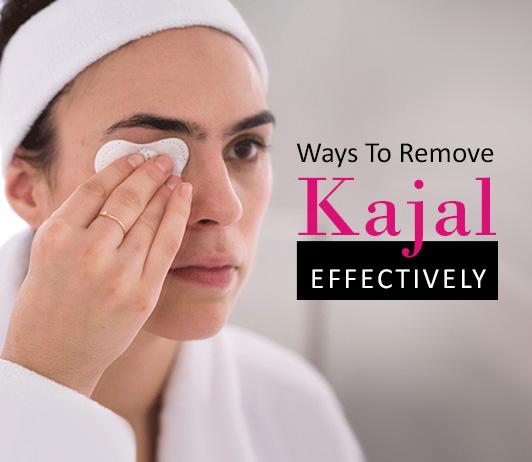 Ways to Remove Kajal