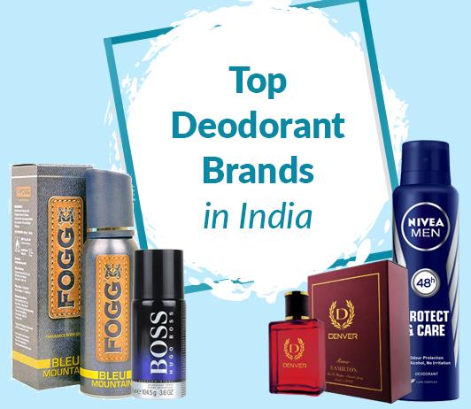 The Best Deodorant Brands In India