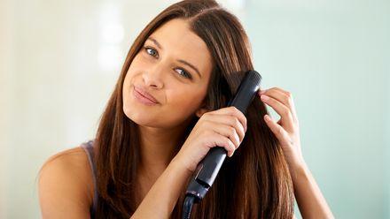 Use The Hair Straightener