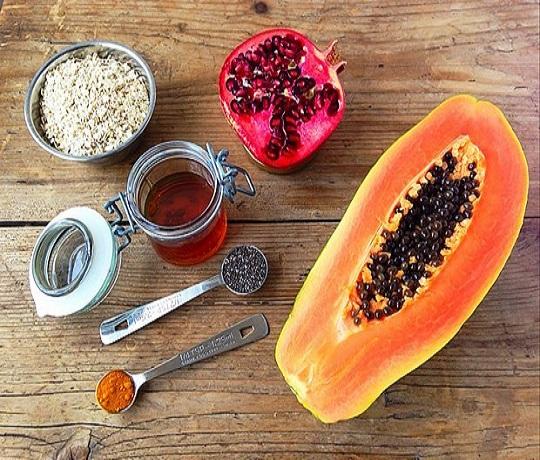 Papaya, Multani Mitti And Honey