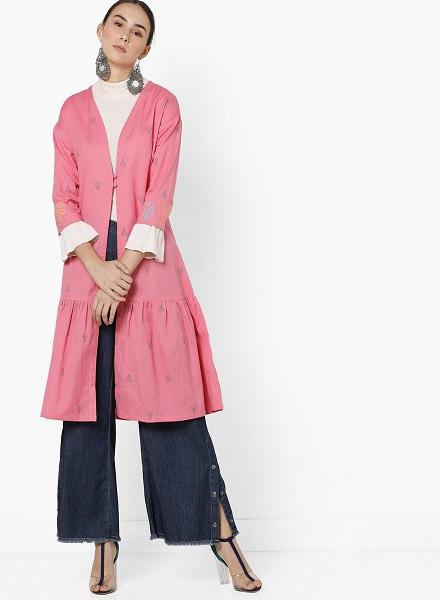 Printed Long Jacket