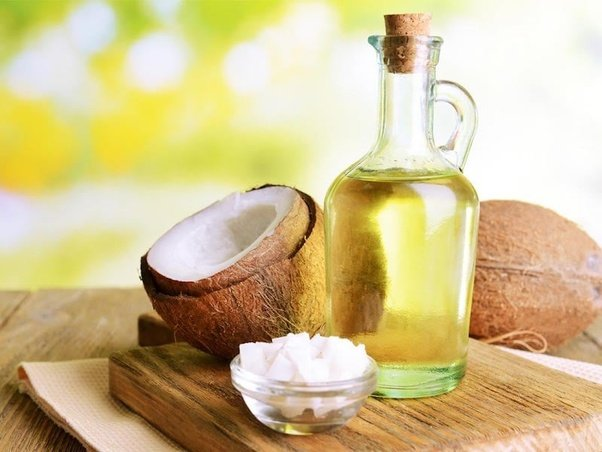 essential oil and coconut oil