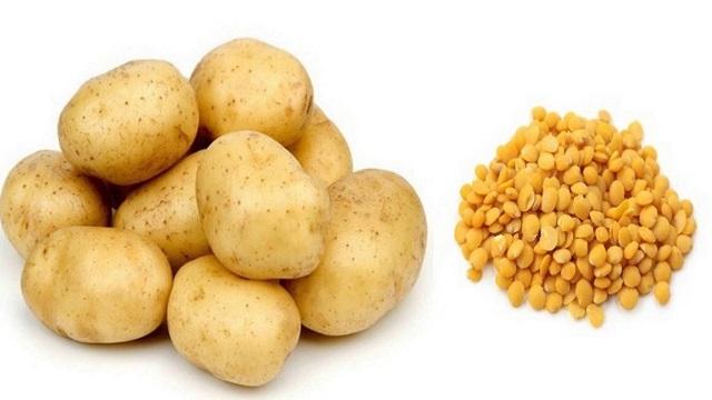 Potato & Lentils
