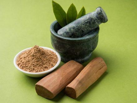 Use Sandalwood Powder