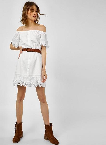Detailed Shirt Dress