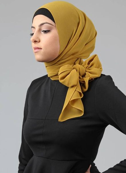 Side Bow Hijab Style