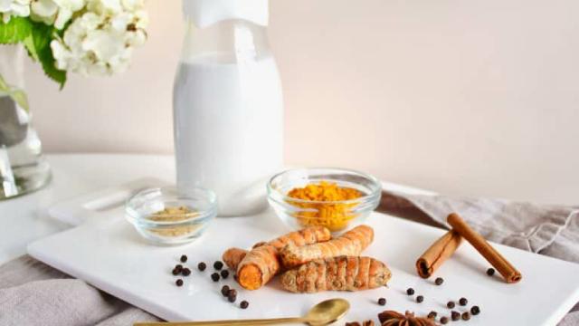 Turmeric And Milk
