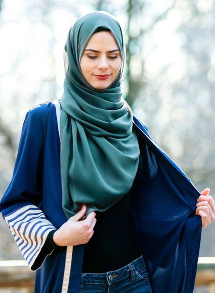 The Classic Hijab Style
