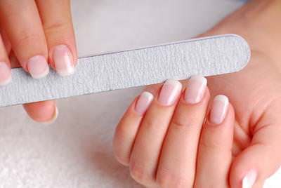 Trim And File Your Nails