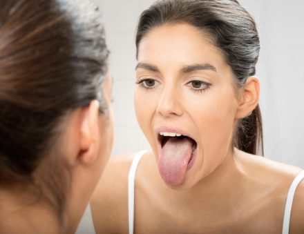 Tongue Stretch Exercise