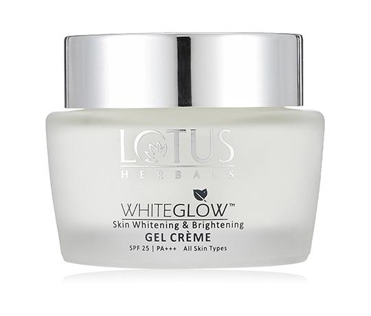 Lotus Herbals Whiteglow Skin Whitening And Brightening Gel Creme, SPF-25