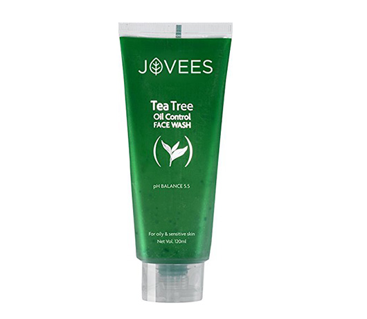 Jovees Tea Tree Oil Control Face Wash