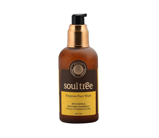 SoulTree Nutgrass Face Wash With Neem & Chamomile