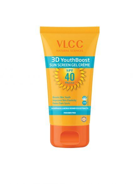 VLCC 3D Youth Boost SPF 40 Sunscreen Gel Crème