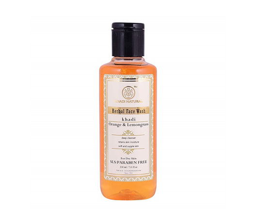 Khadi Natural Orange & Lemongrass Herbal Face Wash