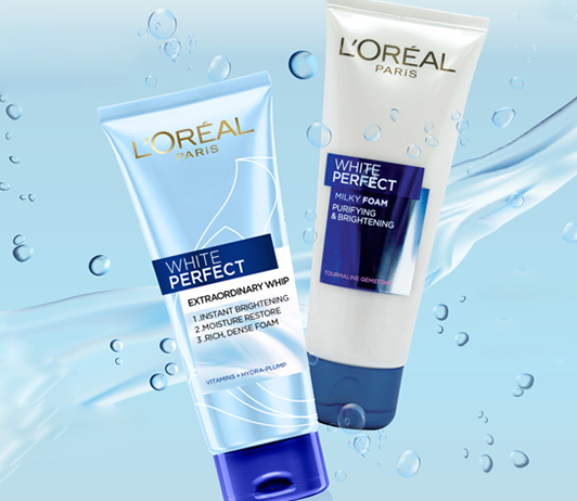 Loreal White Perfect Milky Foam Face Wash