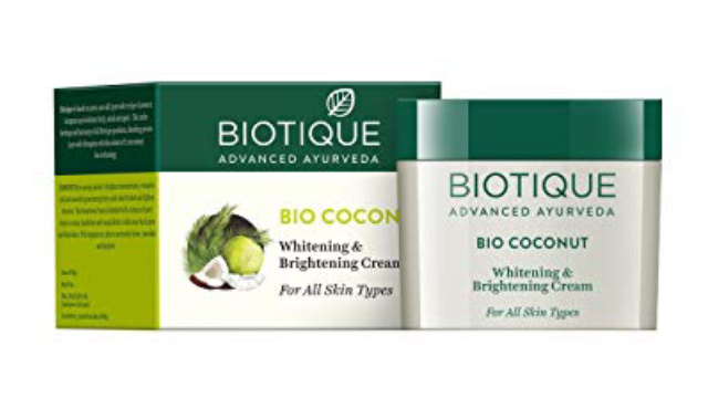 Biotique Botanicals Bio Coconut Whitening & Brightening Cream
