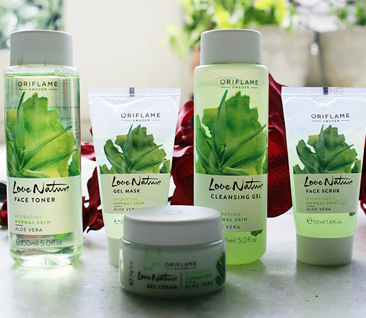 Oriflame-Love-Nature-Face-Wash