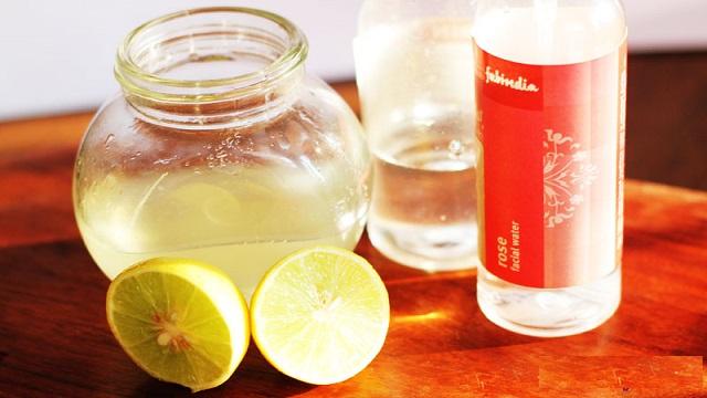 Lemon Juice for Oily Skin