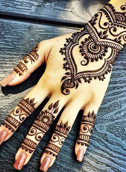 50 Simple Easy Arabic Mehndi Designs 2019 Best