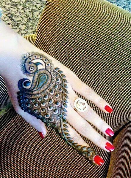 beautiful arabic mehndi designs for palm