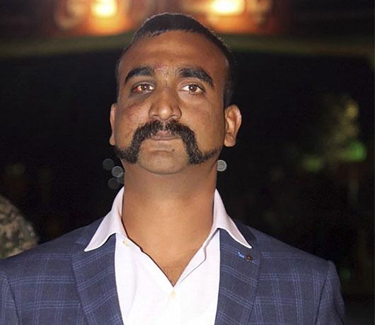 Abhinandan Beard Style